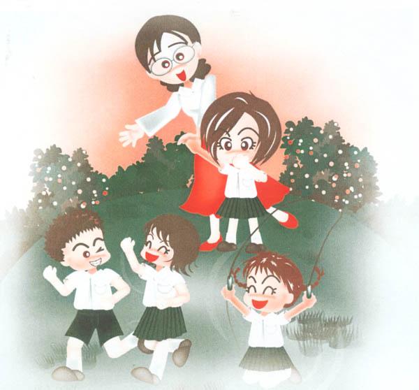 兒童插畫16
